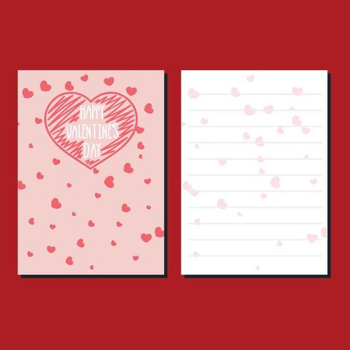 Valentine Day Stationery Card