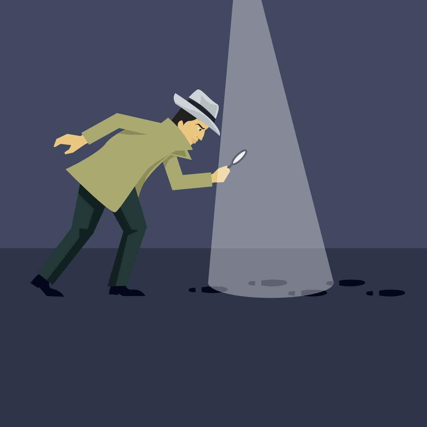 police investigation free vector art