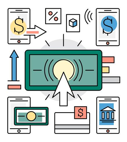 Linear Finance and Banking Vector Elements