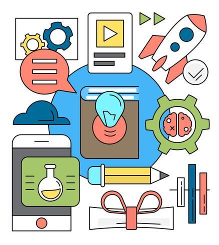 Gratis Startup Vektor Illustration
