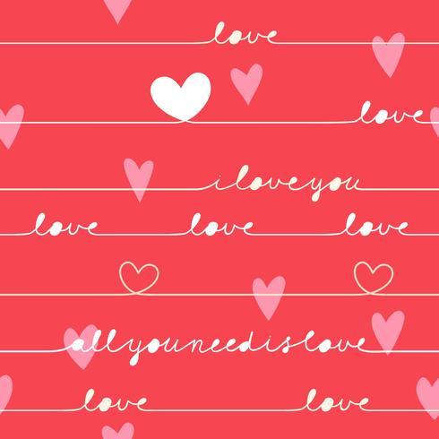 Kärlek valentinkort