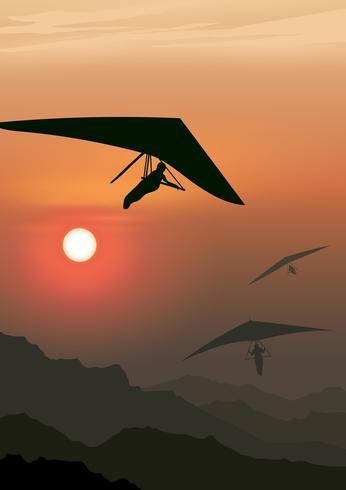 ala delta volando