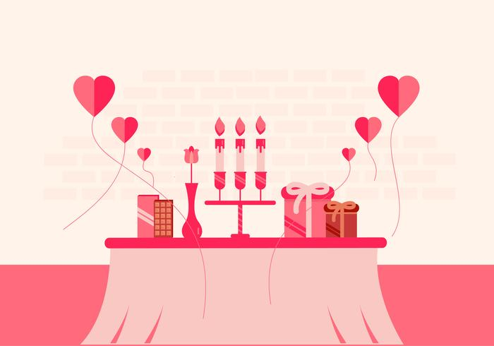 Diseño de fondo de San Valentín