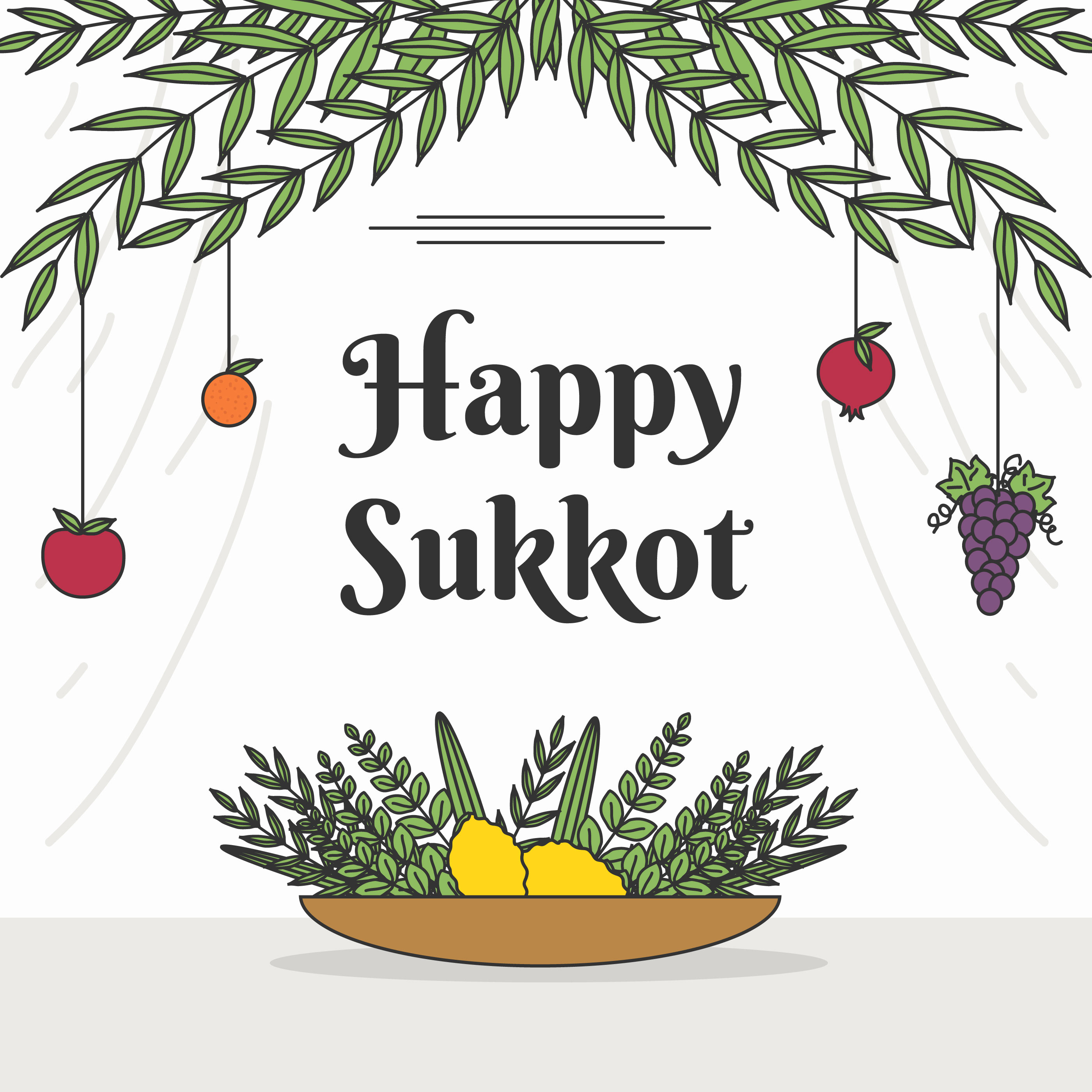Sukkot Free Vector Art 223 Free Downloads
