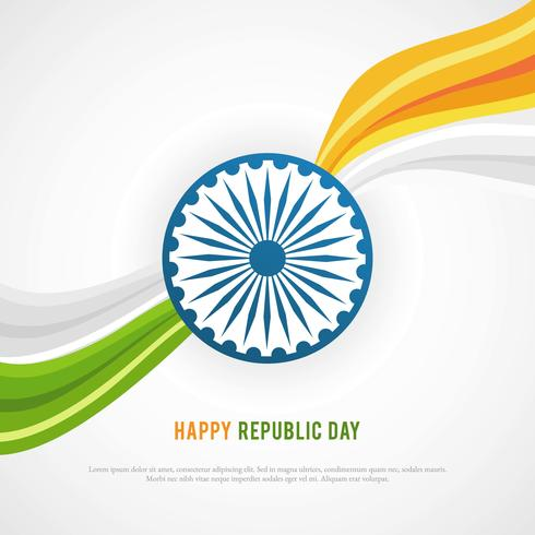 Happy Republic Day Background