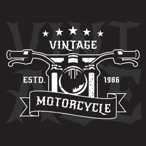 Vintage Motorcycle Emblems Labels
