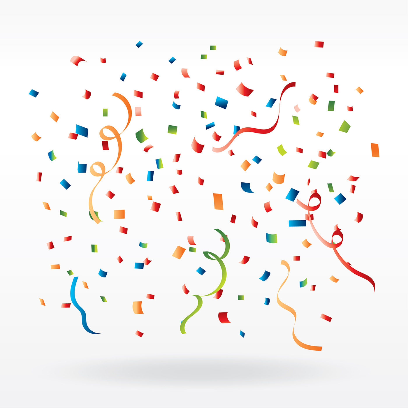 confetti free vector art 20966 free downloads