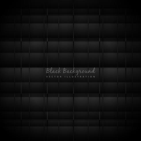 ilustração abstrata de design de fundo preto escuro vector