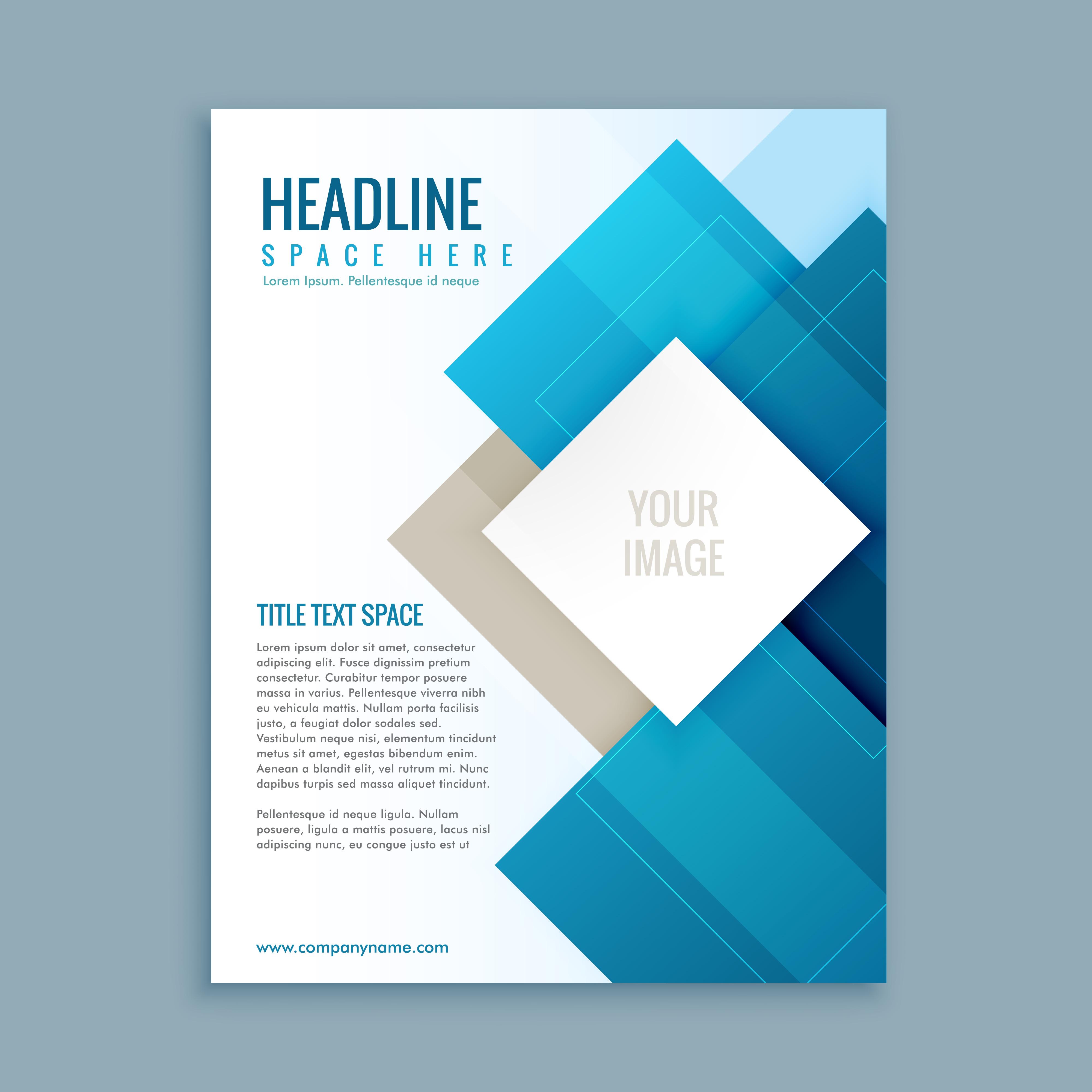 modern business brochure template flyer