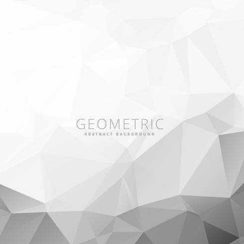 gray white geometric background