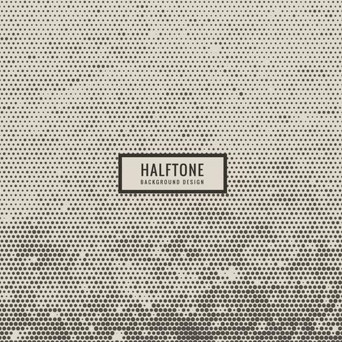 halftone dirty texture