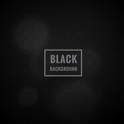 black bokeh style background vector design illustration