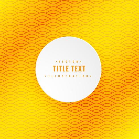 yellow creative pattern