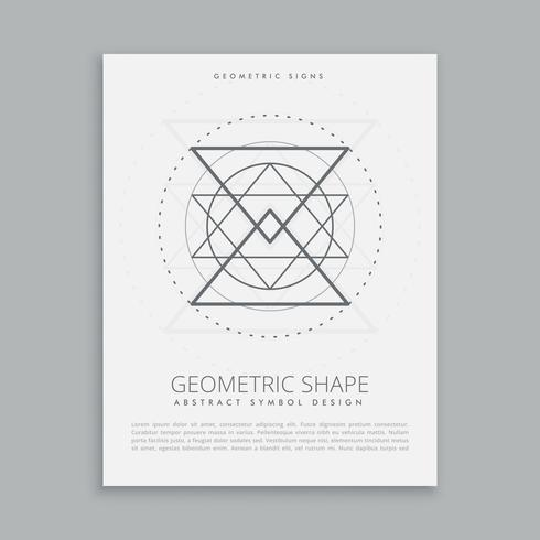 sacred geometric sign