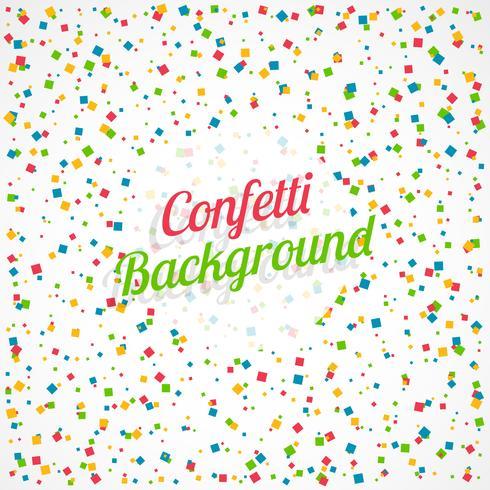 kleurrijke vierkante confetti achtergrond