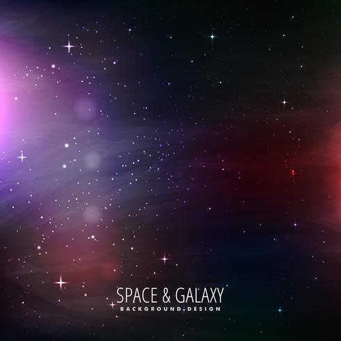space and galaxy background