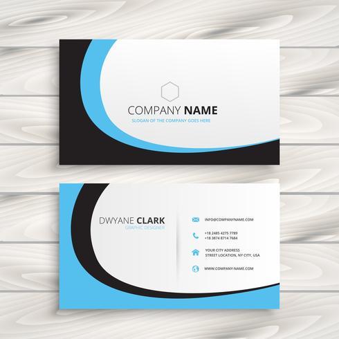 creative business card vector design illustration art