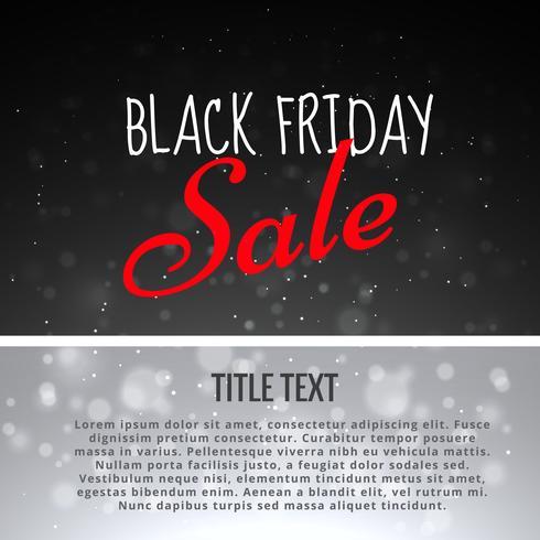 vente de fond de conception vendredi noir