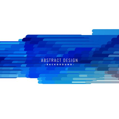 abstract blue lines shapes vector background