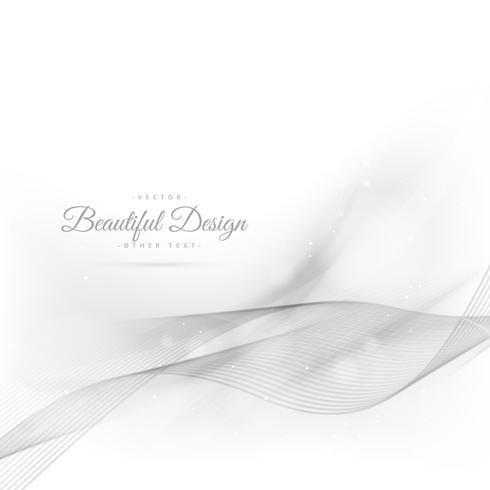 silver wavy beautiful background