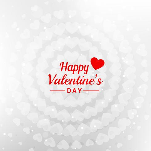 happy valentines day message in white background vector design i
