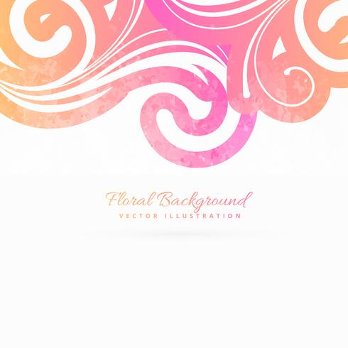 colroful floral background