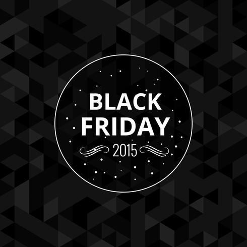 Freitag-Entwurfshintergrund des Schwarzen 2015