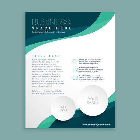 business flyer pamphlet brochure design template in A4