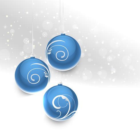kerstballen hangen