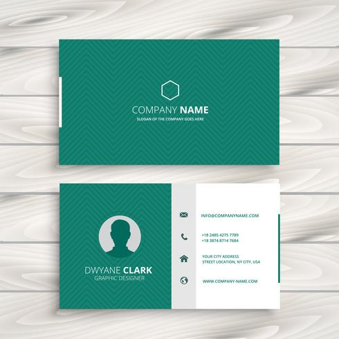 minimal business card template vector design illustration - Minimal Business Card