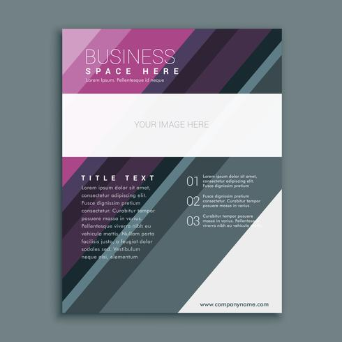 premium business brochure flyer design template in A4 paper size