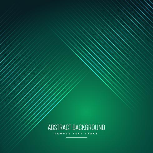 astratto sfondo verde con linee lucide