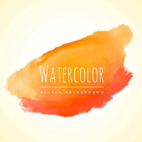 orange ink splash stain vector design illustration