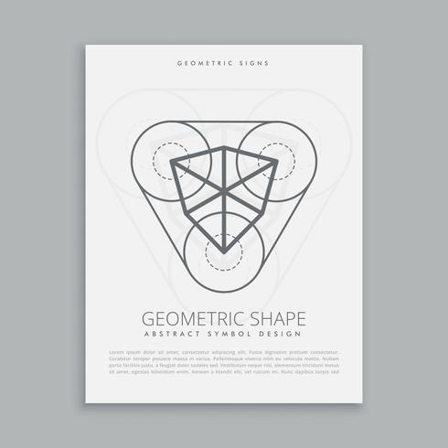 kubusvormige heilige geometrische figuur