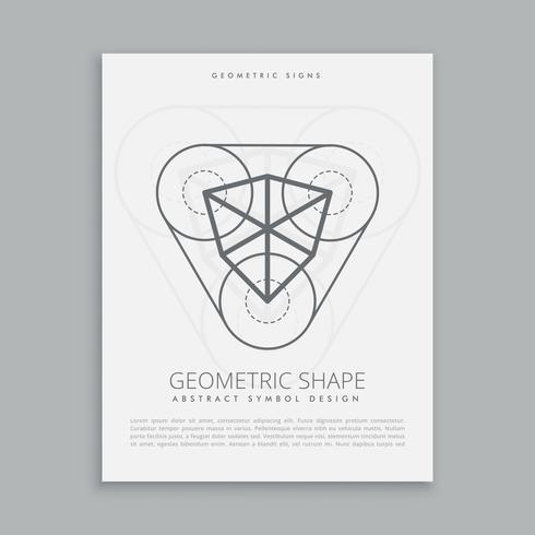 kubische heilige geometrische Figur
