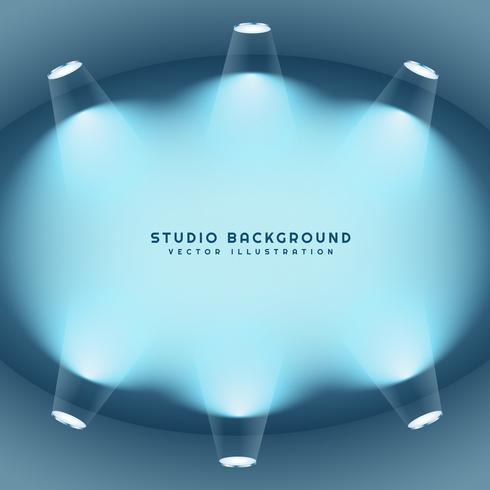 clean studio lights background