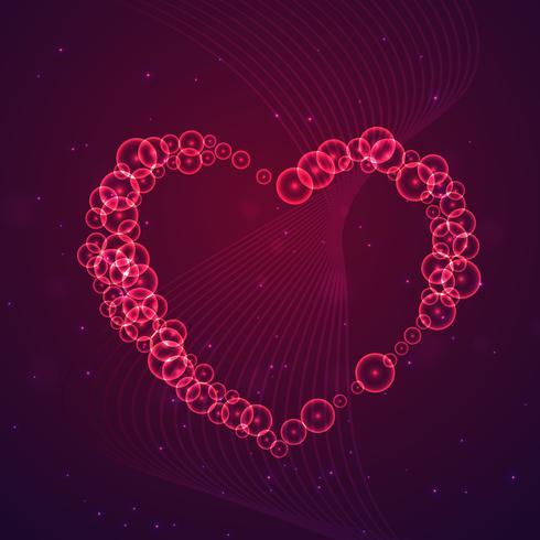 love hearts background card vector design illustration