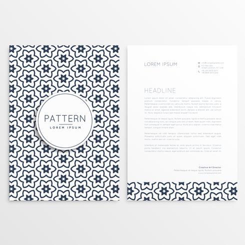 pattern corporate brochure template