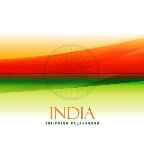 indian flag colors orange and green vector design illustration