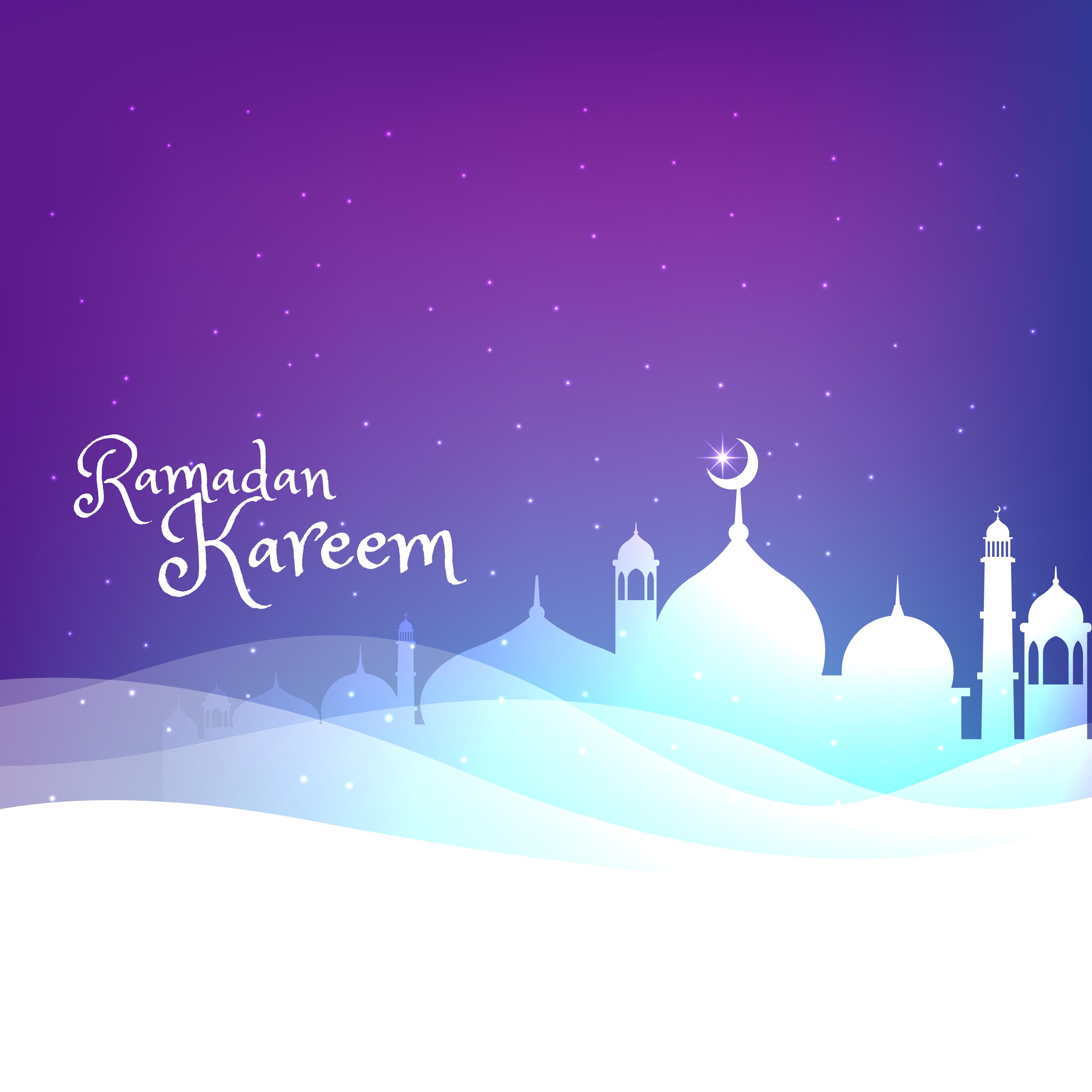 ramadan kareem greeting card download free vector art