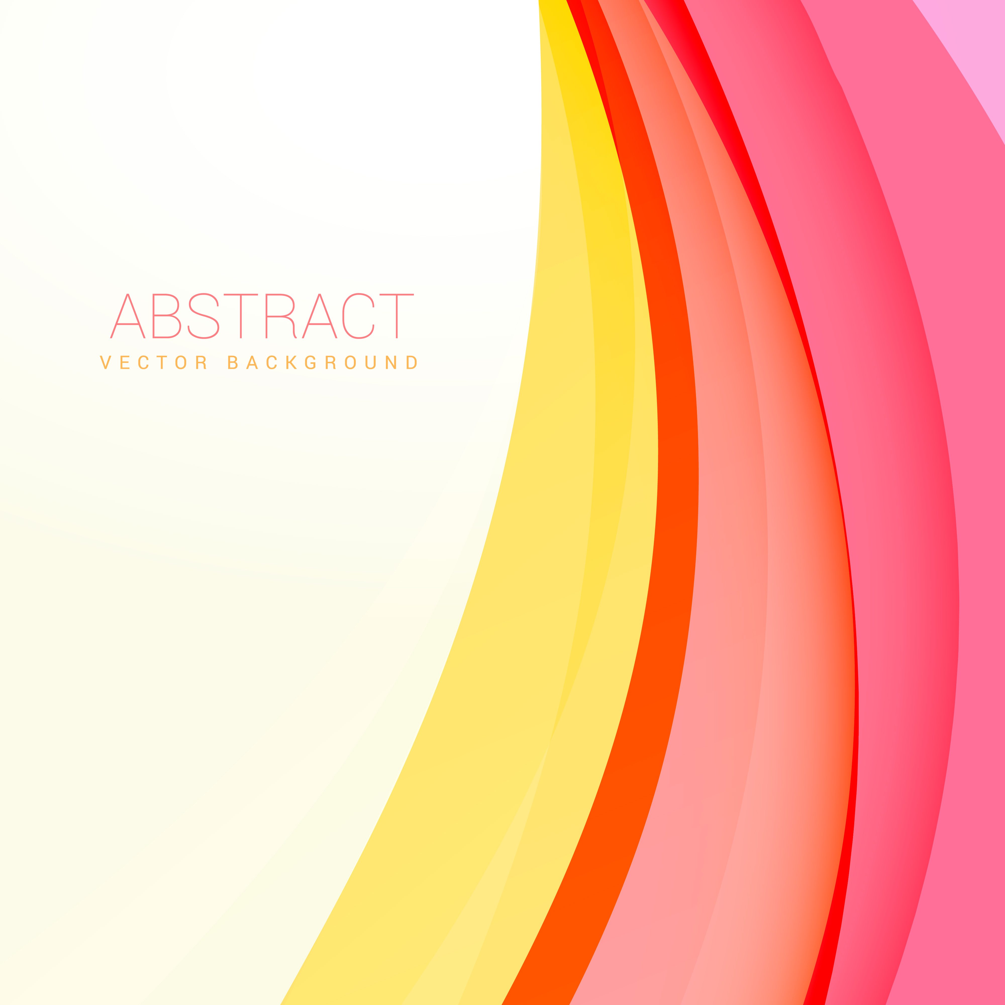 Colorful Abstract Modern Banner: Clean Modern Wave Vector Background Design
