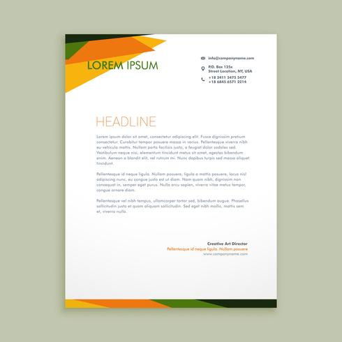 abstract creative letter  template vector design illustration
