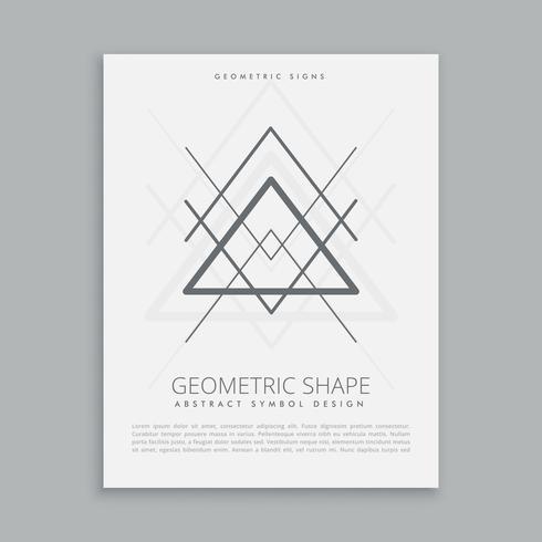 geometric hipster symbol