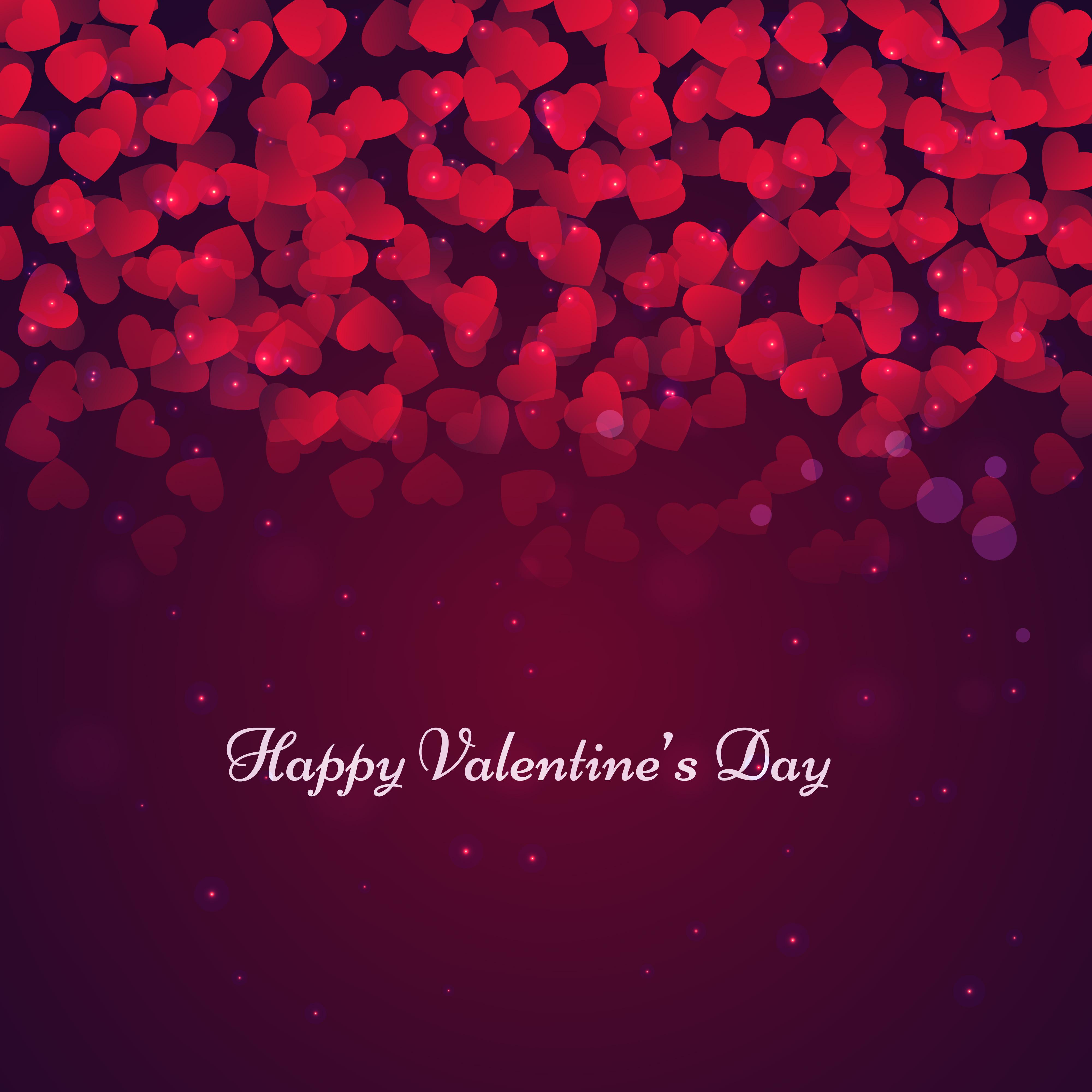 beautiful valentines day card vector design illustration