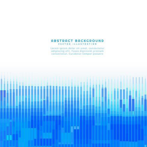 Fondo de líneas azules abstractas