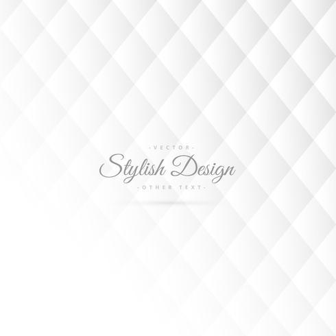 stylish white pattern design