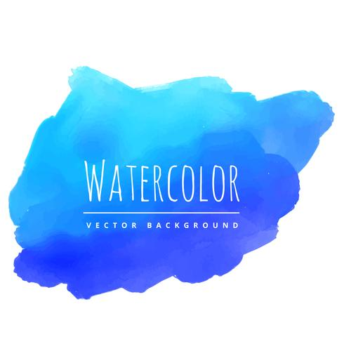 hand paint watercolor stain vector design illustration