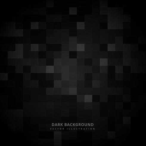zwarte vierkante mozaïek achtergrond vector ontwerp illustratie