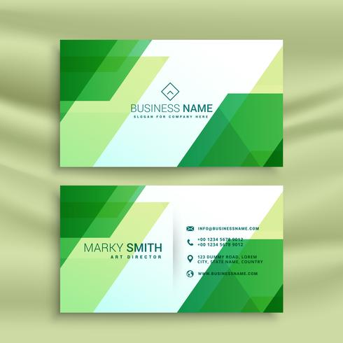 Green business card template with abstract shapes download free green business card template with abstract shapes fbccfo Image collections