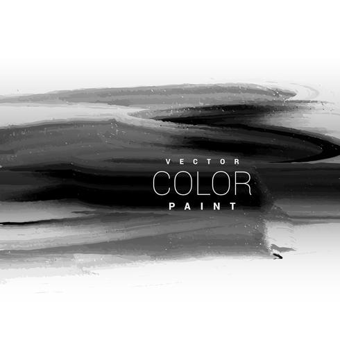 design de fond vecteur peinture noire encre noire